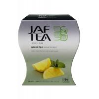 Чай зеленый JAF Exclusive Collection Лимон и Мята 100г картон