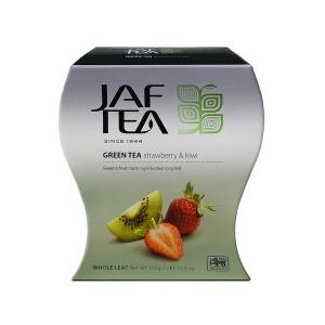 Чай зеленый JAF Exclusive Collection Клубника и киви 100г картон