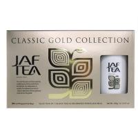 Чай черный JAF Classic Gold Collection - Премиальный набор  + фарфоровая чашка 50*2г)