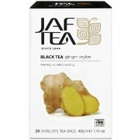 Черный чай JAF Exclusive Collection Ginger Ceylon 20х2г
