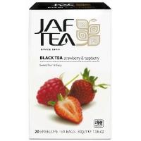 Чай черный JAF Exclusive Collection Клубника и Малина 20x1,5г