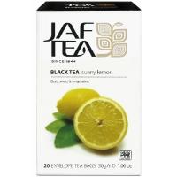 Чай черный JAF Exclusive Collection Солнечный лимон 20x1,5г
