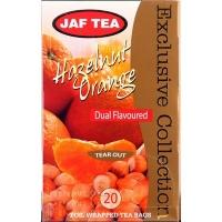 Чай черный JAF Exclusive Collection Лесные орехи и апельсин 20x2г