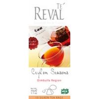 Чай черный JAF Te' Reval  Ceylon Seasons Dimbulla Region (15x2г.)