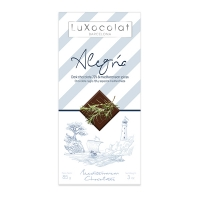 Черный шоколад 72% со средиземноморскими специями Alegría LuXocolat, арт. lx_3452, 85г