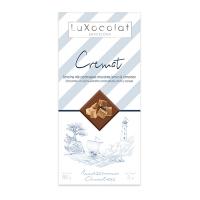 Молочный шоколад с карамелью, лимоном и корицей Cremat LuXocolat, арт. lx_3455, 85г