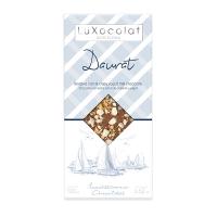 Молочный шоколад с йогуртом и воздушной кукурузой Daurat LuXocolat, арт. lx_3461, 100г