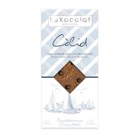 Молочный шоколад с хрустящей карамелью и капучино Càlid LuXocolat, арт. lx_3462, 100г