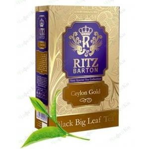 Чай Ritz Barton Ceylon Gold 80 гр.