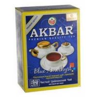 Черный чай Akbar (Акбар) Голубой Аметист 100г