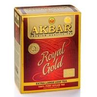 Черный чай Akbar (Акбар) Royal Gold 80г