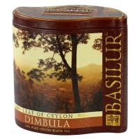 Черный чай Basilur Димбула, коллекция Лист Цейлона, ж/б 100г
