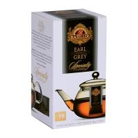 Черный чай Basilur Эрл Грей пакетированный, 10х4г