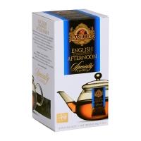 Черный чай Basilur Английский полдник пакетированный, 10х4г