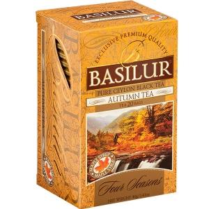 Черный чай Basilur Осенний, коллекция Четыре сезона, 20х2г