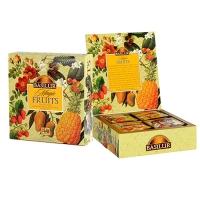 Черный чай Basilur Ассорти, коллекция Волшебные фрукты, пакетированный 40х2гр