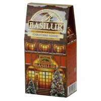 Черный чай Basilur Рождественский домик, картон 100г