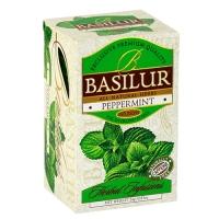 Травяной чай Basilur Перечная мята, коллекция Травяные настои, 20х2г