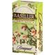 Зеленый чай Basilur Белое волшебство, коллекция Букет, 25х1,5г
