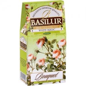 Зеленый чай Basilur Белое волшебство, коллекция Букет, картон 100г