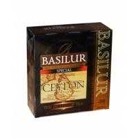 Черный чай Basilur Особый, коллекция Чайный остров, пакетированный 100х2г