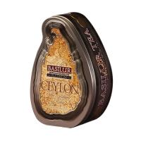 Черный чай Basilur Платиновый, коллекция Чайный остров Цейлон, ж/б 100г