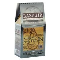 Черный чай Basilur Платинум, коллекция Чайный остров, картон 100г