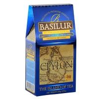 Черный чай Basilur Высокогорный, коллекция Чайный остров, картон 100г