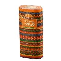 Черный чай Basilur Радуга, коллекция Народный Трикотаж, ж/б 100г