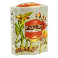 Фруктовый чай Basilur Пылающий Имбирь, коллекция Фруктовый коктейль, ж/б 100г