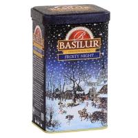 Черный чай Basilur Морозная ночь, Подарочная коллекция, ж/б 85г