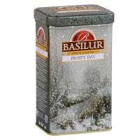 Черный чай Basilur Морозный день, Подарочная коллекция, ж/б, 85г