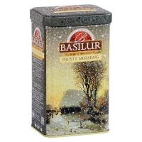 Черный чай Basilur Морозное утро, Подарочная коллекция, ж/б, 85г