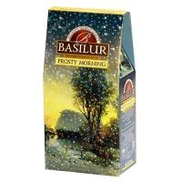 Черный чай Basilur Морозное утро, Подарочная коллекция, картон 100г