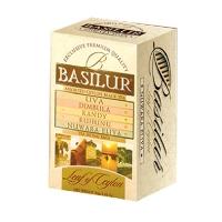 Черный чай Basilur Ассорти в пакет., коллекция лист Цейлона, 20х2г