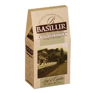 Черный чай Basilur Нувара Элия, коллекция Лист Цейлона, картон 100г