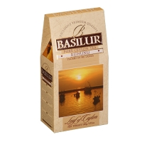 Черный чай Basilur Рухуну, коллекция Лист Цейлона, картон 100г
