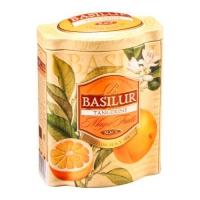 Черный чай Basilur Танжерин (Мандарин) ж.б. Магические фрукты, 100г