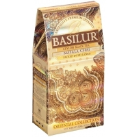 Черный чай Basilur Масала, Восточная коллекция картон 100г