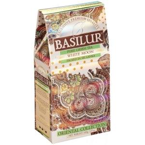 Зеленый чай Basilur Белая луна, Восточная колллекция, картон 100г