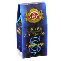 Черный чай Basilur Английский полдник, коллекция Избранная классика, картон 100г