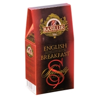 Черный чай Basilur Английский завтрак, коллекция Избранная классика, картон 100г