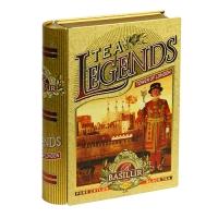 Черный чай Basilur Башня Лондона, коллекция Чайные легенды, ж/б 100г
