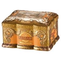 Черный чай Basilur Янтарь, коллекция Ларец, ж/б 100г