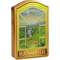 Черный чай Basilur Шри Ланка, коллекция Окна, ж/б 100г