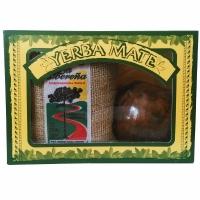 Подарочный набор-мини в коробке мате La Oberena Premio, калабас, бомбилья арт IR864