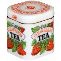 Фарфоровая чайница с черным чаем арт. 10-003 125г