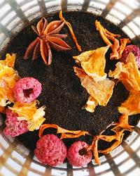 Рецепт черного чая с апельсином, малиной и звездочным анисом. Наши чайные эксперименты
