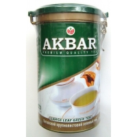 Чай Akbar Green Tea жб 225г