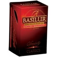 Чай Английский завтрак Basilur, коллекция Избранная классика, 20х2г